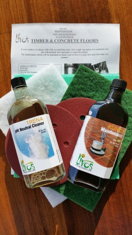Timber, Concrete and Cork Floors Care Kit